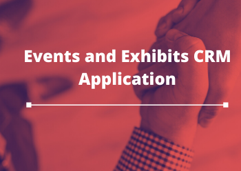 Event and Exibits CRM Application